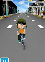 Screenshot of BMX Boy - Street Stunts
