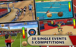 Screenshot of Athletics: Summer Sports