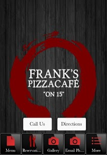Franks PizzaCafe on 15 - screenshot