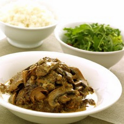 Poor Man's Stroganoff with Wild Mushrooms