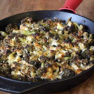 Light Broccoli Chicken Skillet