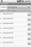 Screenshot of MFT (Therapy) Board Exam Prep