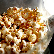 Messy Microwave Kettle Corn