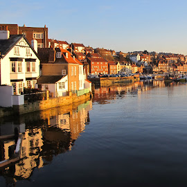 Whitby  England by Osija Anolak - Landscapes Waterscapes