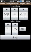 Screenshot of EasyNet Touch