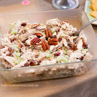 Chicken Salad With Dried Cranberries And Pecans Recipes
