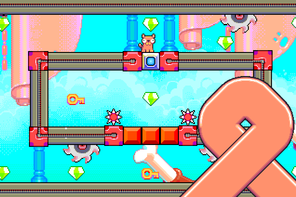 Silly Sausage in Meat Land Screenshot 2