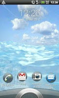 Screenshot of Beach HD 3D LiveWallpaper