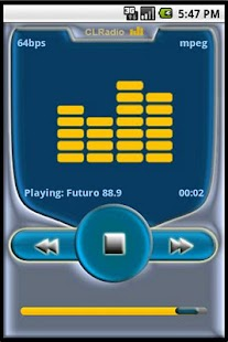 CLRadio - screenshot