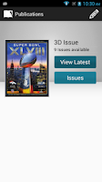 Screenshot of 3D Issue