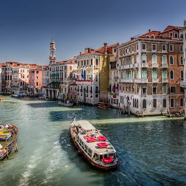 The Grande Canal by Wendy Oster - Novices Only Landscapes ( venice, landscapes, canal, italy )