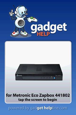 Metronic 441802 - Gadget Help