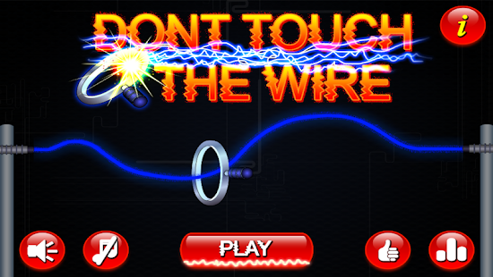 how to make don t touch the wire game