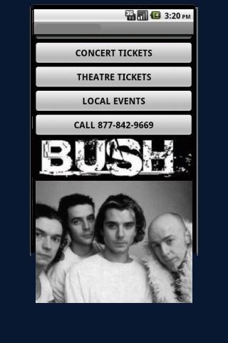 Bush Tickets