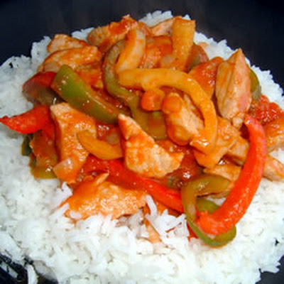 Pork and Pepper Stew