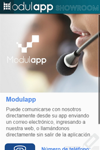Modulapp Showroom - screenshot