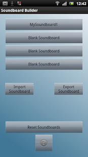 Soundboard Builder - screenshot