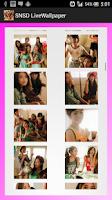 Screenshot of SNSD Live Wallpaper