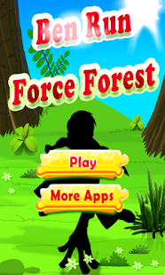 Ben Run Force Forest - screenshot