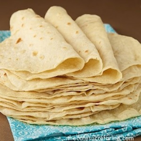 Best Ever! Homemade Flour Tortillas