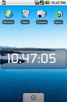 Screenshot of Stargate Universe Clock Free