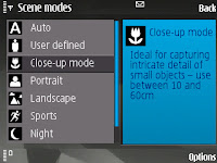 Select the close-up mode to use the macro feature - gersbo.dk