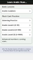 Screenshot of Learn Arabic Numbers (AdFree)
