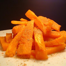 Spicy Sweet Potato Frites