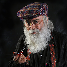Smile of a Genius by Rakesh Syal - People Portraits of Men (  )