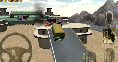 Screenshot of Parking 3D - Army parking war