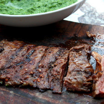 Spice-Rubbed Grilled Skirt Steak