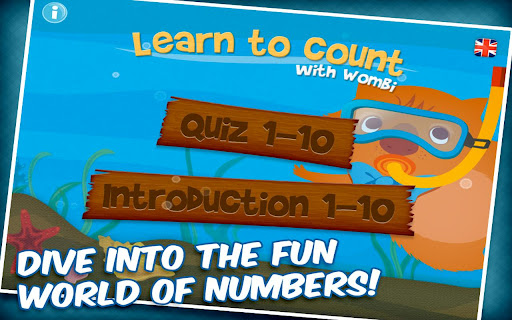 Learn to count with Wombi