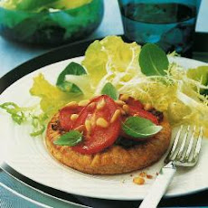 Tomato And Basil Galettes