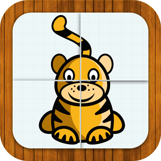 Animal puzzle for toddlers 教育 App LOGO-硬是要APP