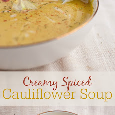 Creamy Spiced Cauliflower Soup