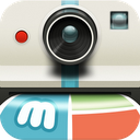 Muzy - Share photos & collages mobile app icon