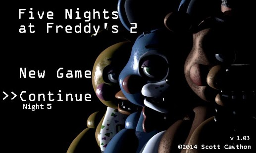Free Download Five Nights at Freddy's 2 Demo APK for Samsung