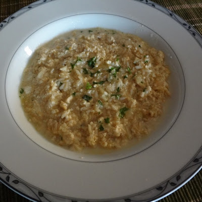 Tofu Cheese Cream Risotto