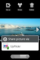 Screenshot of UpFlickr