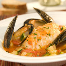 Tuscan Cod & Mussels In Light Vegetable Broth