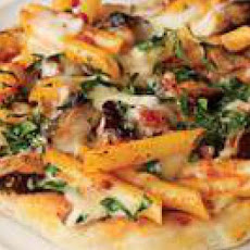 Penne alla Vodka and Grilled Chicken Pizza