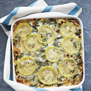 Sausage, Chard, and Lemon Lasagna