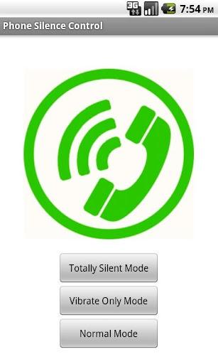 Phone Silence Control