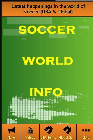 【免費運動App】Soccer World Info-APP點子