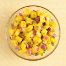 Gingered Mango Salsa