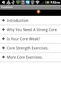 Screenshot of Core Training Program