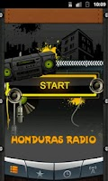 Screenshot of Honduras Radio