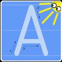 ABC - Buchstaben und Zahlen icon