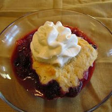 Traditional Blackberry Cobbler