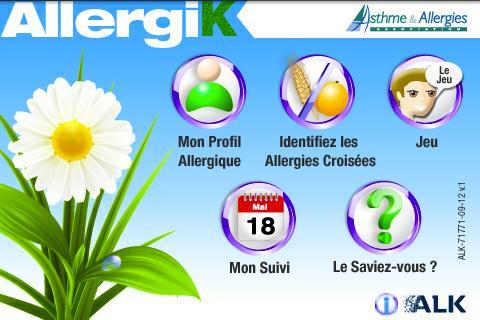 AllergiK - Allergies croisées